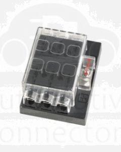 Narva 54431 6 Way Standard ATS Fuse Block with Transparent Cover
