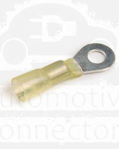 Quikcrimp HDC40 6mm Heatshrink Yellow Crimp Terminal