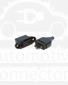 Britax B82-A 2 Pin Flush Mount Plug & Socket