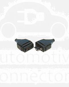 Britax 2 Pin In-Line Plug and Socket (B62-A)