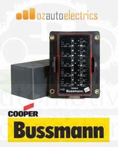 Bussmann 15303-2-6-4 RTMR 15300 Series Rear Terminal Fuse and Relay Box (Dual Bussed)