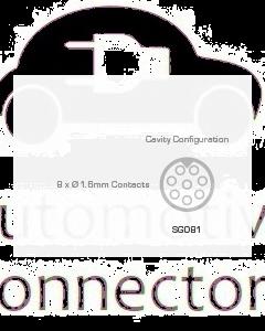 Schlemmer SG081 Bulkhead Connector Kit - 8 Circuit, 12mm Conduit