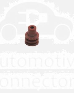 Delphi 15324973 Red-Bright Individual Loose Round 1 Way Cable Cavity Seal