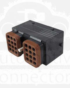 Deutsch DRC16-24SB-P013 DRC Series 24 Socket Plug