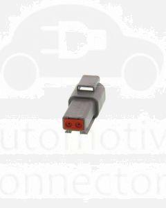 Deutsch DT04-2P-C015 DT Series 2 Pin Receptacle