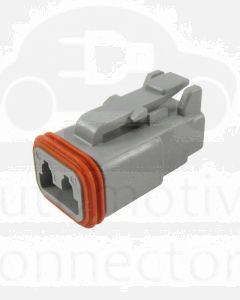 Deutsch DT06-2S-C015 DT Series 2 Socket Plug
