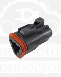 Deutsch DT06-3S-E004 DT Series 3 Socket Plug