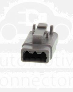 Deutsch DTM06-3S DTM Series 3 Socket Plug