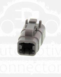 Deutsch DTM06-4S DTM Series 4 Socket Plug