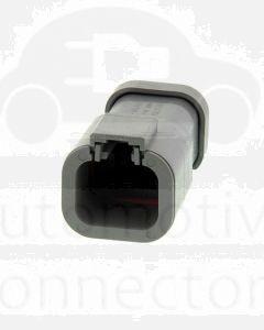 Deutsch DTP04-4P-E003 DTP Series 4 Pin Receptacle