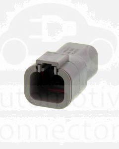 Deutsch DTP04-4P DTP Series 4 Pin Receptacle