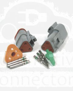 Deutsch DT Series 3 Pin Connector Kit