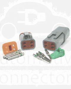 Deutsch DT Series 4 Pin Connector Kit