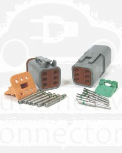 Deutsch DT Series 6 Pin Connector Kit