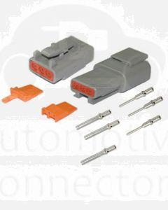 Deutsch DTM Series 3 Way Connector Kit