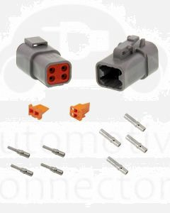 Deutsch DTP Series 4 Pole Connector Kit