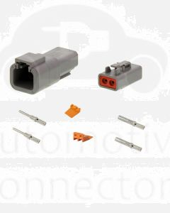Deutsch DTP Series 2 Pole Connector Kit