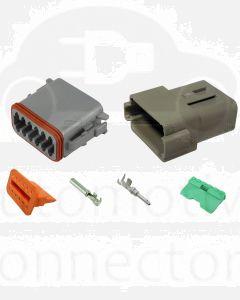 Deutsch DT Series 12 Way Connector Kit with F Crimp Contacts
