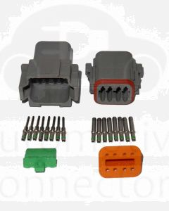 Deutsch DT8-3 8 Way Connector Kit with Nickel Contacts