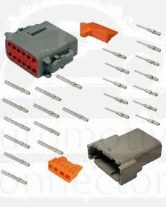 Deutsch DTM Series 12 Way Connector Kit
