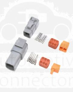 Deutsch DTM Series 6 Way Connector Kit
