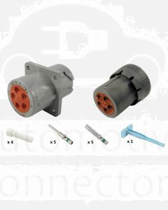 Deutsch HD10-5-16P HD10 Plug Connector Kit