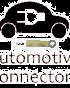 Quikcrimp HDC38 Yellow 4mm Heatshrink Ring Terminal