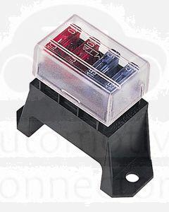 Hella Blade Fuse Box - 4 Fuses (8720)
