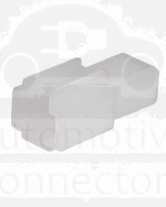 Quikcrimp QK1ASL/10 QK Series Receptacle Connector 1 Cavity - 6.3mm (10Pk)