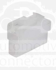 Quikcrimp QK2BSL/10 QK Series Plug Connector 2 Cavities - 6.3mm (10Pk)