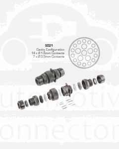 Schlemmer SG21 Inline Connector Kit 21 Circuits