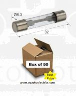 Narva 52350 Glass Fuse 3AG 50Amp (Box of 50)