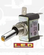 Narva 60287BL Off/On Toggle Switch with Green L.E.D