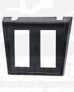 Narva 62046BL Dual Slot Plastic Switch Panel