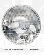Narva 72036 H4 7'' (178mm) High/Low Beam Halogen Headlamp Only