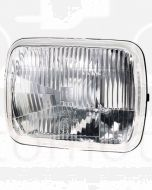 Narva 72086 H4 200 x 142mm High/Low Beam Halogen Headlamp Only