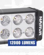 Narva 72784 9-32 Volt High Powered L.E.D Work Lamp Flood Beam 12000 Lumens