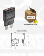 Nava 55715 Blade Manual Reset Circuit Breaker - 15 Amp (Box of 5)