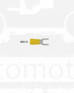 Ionnic Fork/ Spade Terminal 5mm Size - Vinyl Yellow