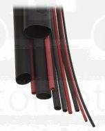 Narva 56666 Heatshrink Dual Wall Tubing - Black (Shrunk Dia.2.0mm)