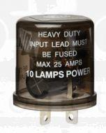 Hella High Capacity Flasher Unit - 3 Pin, 24V DC (3028)