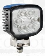 Hella LED FF Work Lamp - Close Range, 9-33V DC, Nylon Lens (1551LEDPMMA)