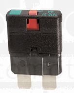 Hella Manual-Reset Circuit Breaker - 20A, 10-28V DC (8734)