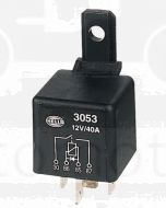 Hella Normally Open Relay with Diode - 4 Pin, 12V DC (3053)