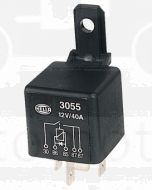 Hella 3055 Normally Open Relay with Diode 5 Pin 12V DC