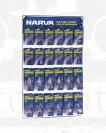 Narva 'Full Range' 12/24 Volt Blistered Halogen Globe Merchandiser