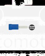 Quikcrimp QKC71 Blue 2.3mm x 10mm Flat Blade Female Terminal 100 Pack